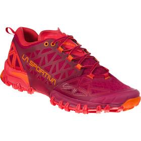 La Sportiva Bushido II Hardloopschoenen Dames, rood/oranje